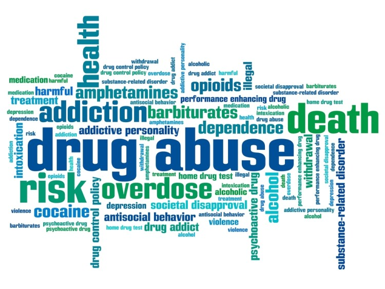 drug abuse related words